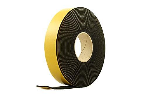 Neopren 10 mm breit x 4 mm dick x 5 m lang Vollgummistreifen Schwarz