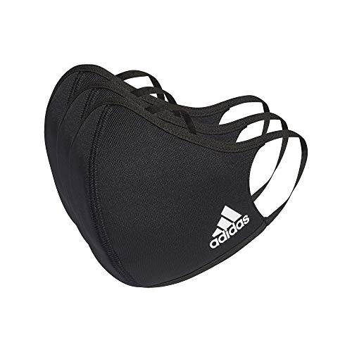adidas Face Cover XS/S-Not for Medical Use, Unisex Bambini, Black, NS