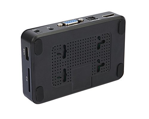 『多功能便携式媒体播放器 HDMI / VGA 输出 OTG USB / / SD / AV / 电视 / Avi 格式 / RMVB 全高清支持1080P 高清画质播放多种输出』の7枚目の画像