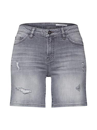 edc by Esprit 030CC1C307 Shorts, Damen, Grau 29 EU