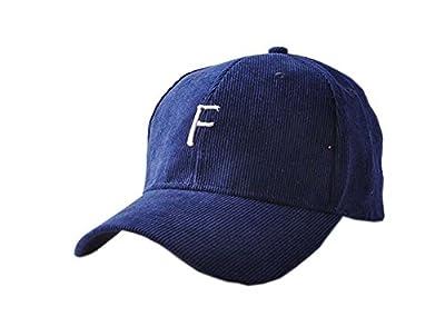 Kordsamt-Mode-Baseballmütze Hip-Hop-Hut justierbar Marine