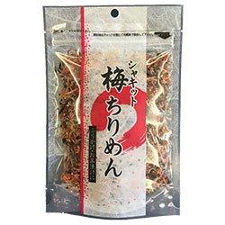 澤田食品 シャキット梅ちりめん 80g×4袋入×(2ケース)