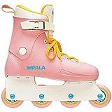 Impala Rollerskates Impala Lightspeed Inline Skate Pink/Yellow 7 M
