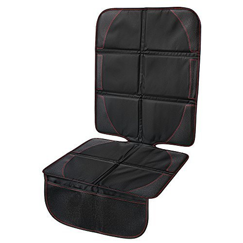 Car Seat Protector, Seats Guardian, Hippih Waterproof Automotive Seat Protectors with Thickest Padding, 2 Handy Pockets