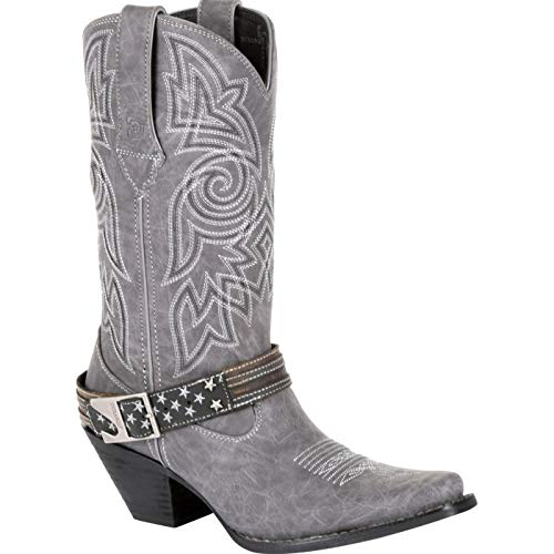 Durango Crush Women's Graphite Flag Accessory Western Boot