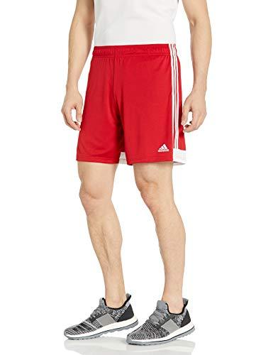 adidas Women's Tastigo 19 Shorts, Power Red/White, Small