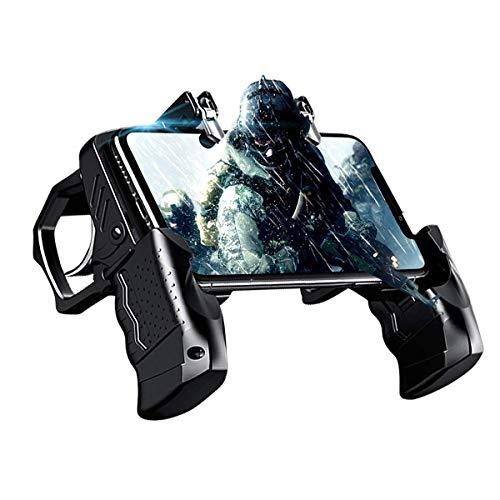 DLseego PUBG Mobile Controller, Trigger Shape Gamepad mit Handy-Controller und L1R1-Trigger für Shooter Sensitive & Aim Trigger Controller für Android & iOS für Knives Out/PUBG/Rules of Survival