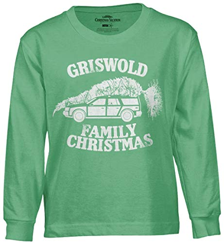 Ripple Junction National Lampoon's Christmas Vacation Griswold Family Xmas Adult Long Sleeve Medium Irish Green
