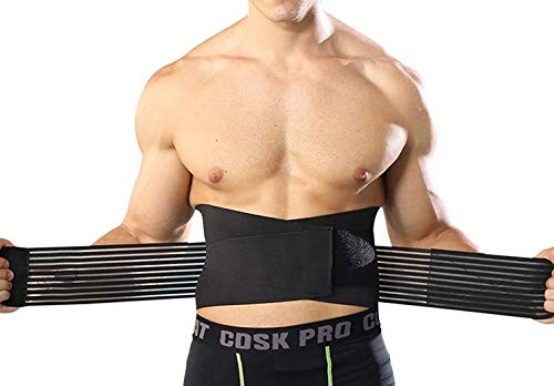 Supporto elastico schiena, fascia lombare supporto schiena, bustino posturale, bustino ortopedico sollievo ernia del disco,...