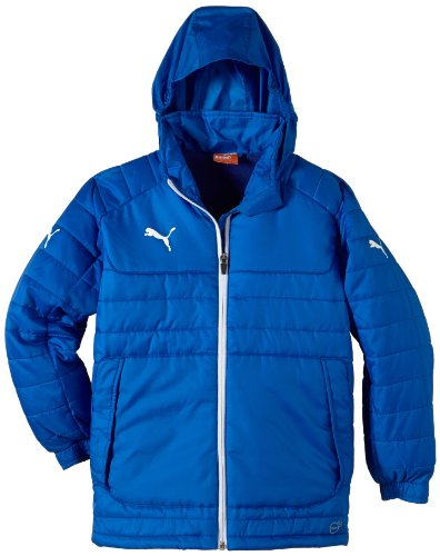 PUMA Kinder Stadionjacke Stadium Jacket, Puma Royal/White, 164, 653978 02