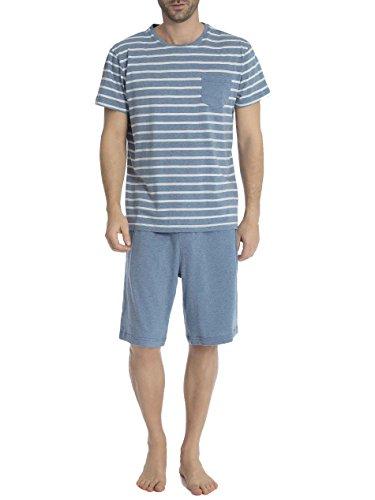 Jockey Camiseta De Manga Corta Rayas Camiseta Y Shorts De