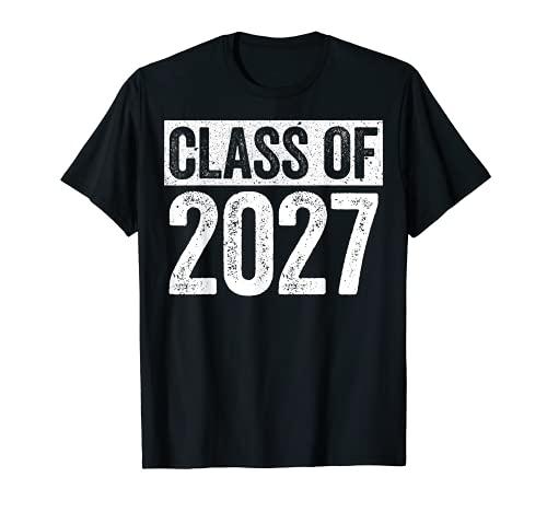 Class Of 2027 Camiseta Senior 2027 Graduación Regalo Camisa Camiseta