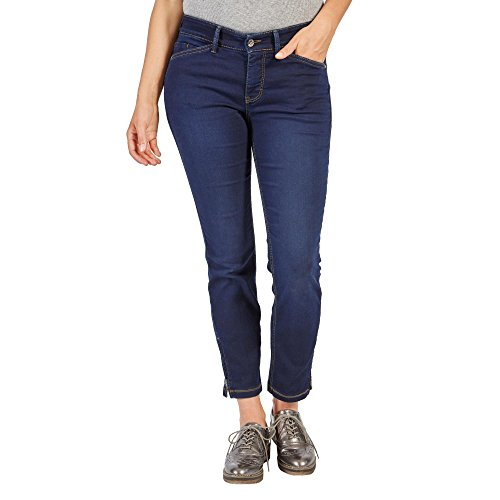 MAC JEANS Damen DREAM CHIC Jeans, Blau (Dark Washed D826), 38W x 27L