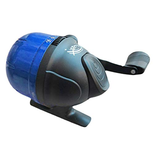 Fishing Equipment High Strength Spincast Fishing Reel Closed Face Reel Under-Spin Spinning Reel - (Color:Blue)