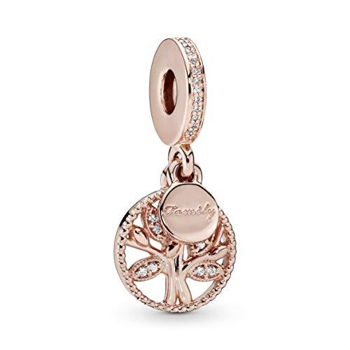 Pandora Charm-Anhänger Familien Stammbaum Rosé 781728CZ