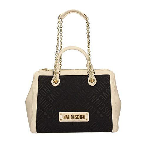 Love Moschino JC4025PP17 Shopper Frau Elfenbein TU
