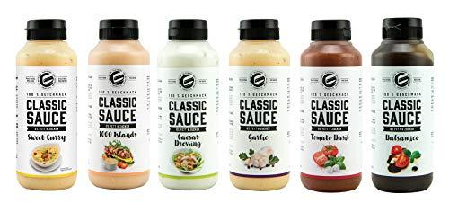 Got7 Classic Sauce Soße Salatsoße Grillsoße Perfekt Zur Diät Abnehmen Fitness Bodybuilding 265ml (3. Mix Box)