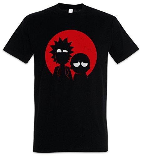 Urban Backwoods R And M Uomo T-Shirt Nero Taglia 2XL