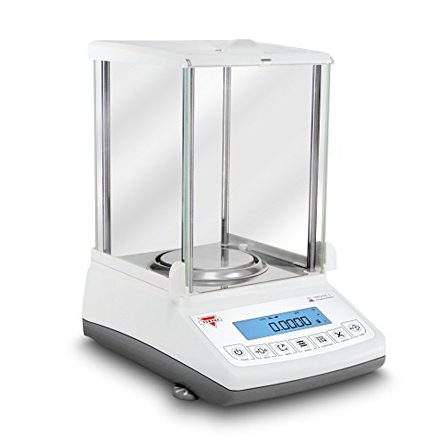 Torbal ATN110A 0.1 mg Auto-Internal Calibration Ultra Compact Design Electromagnetic Load-Cell USB Analytical Balance, 110 g x 0.0001 g, White