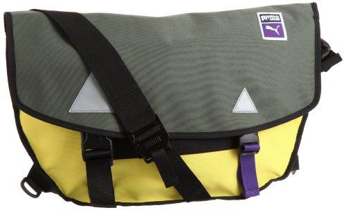 PUMA Traction Courier Bag 9010020, Unisex - Erwachsene Messengerbag, Größe:one Size;Farbe:grün