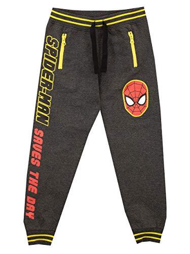 Marvel Jungen Spiderman Jogginghose Grau 116