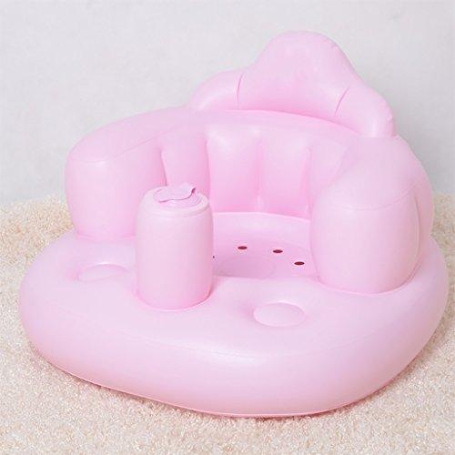 XUEPING Opblaasbare Outlet Baby Sofa Baby Multifunctionele Studie Stoel Kinderen Eetstoel Draagbare Veiligheid Douche Kruk 3 Kleuren B