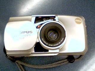 Olympus MMJ M [mju:] Olympus MJU Zoom 70 Deluxe 35mm Weatherproof Camera w/Olympus Lens Zoom 35-70mm Lens Camera (Golden Color Version)