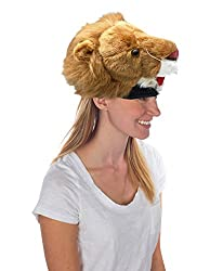 Wild Republic Plush Animal Hats Lion