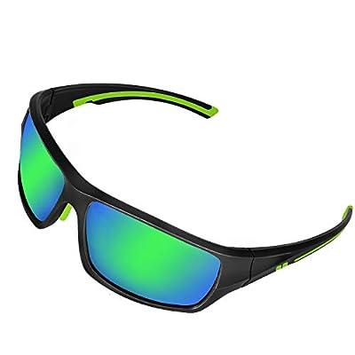 Polarized Sports Sunglasses For Men Women Cycling Running Fishing Golf baseball Softball Tennis,UV Protection