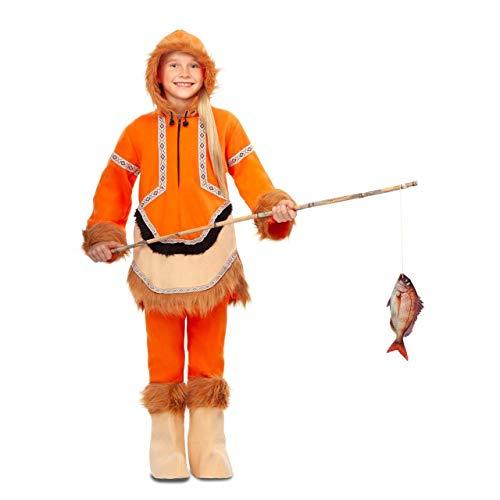 My Other Me Disfraz de Esquimal Naranja para niña