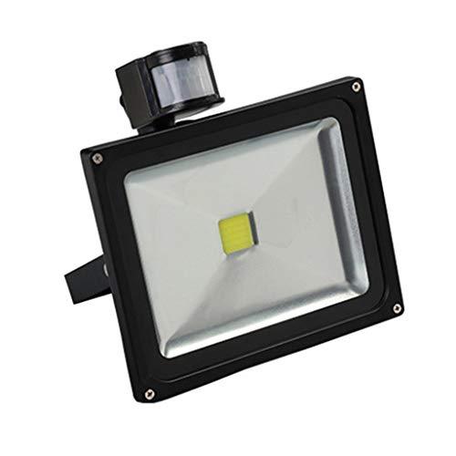 LED-schijnwerper, menselijk lichaam inductie buiten waterdicht reclamebord verlichting spots, 50W 50W Warm licht.