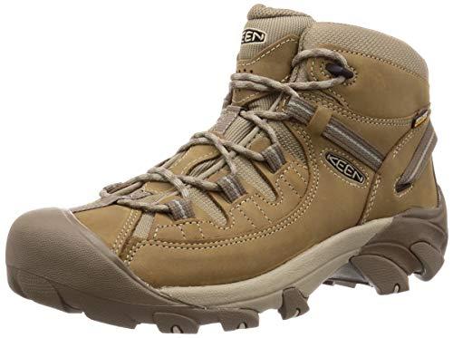 KEEN Men's Targhee II MID WP Hiking Boot, Brown, 12