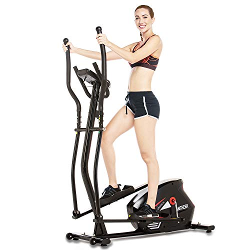 ANCHEER Elliptical Cross Trainer Exercise Machine