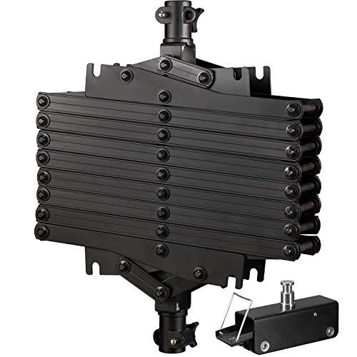 Bresser f001483Pantógrafo Tijeras para Sistema de raíles de Techo para Estudio Negro