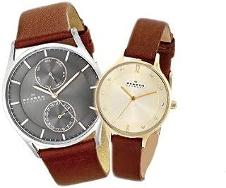 スカーゲン ペアウォッチ メンズ レディース 腕時計 SKW6086 SKW2147 SKAGEN 2本セット クオーツ 並行輸入品