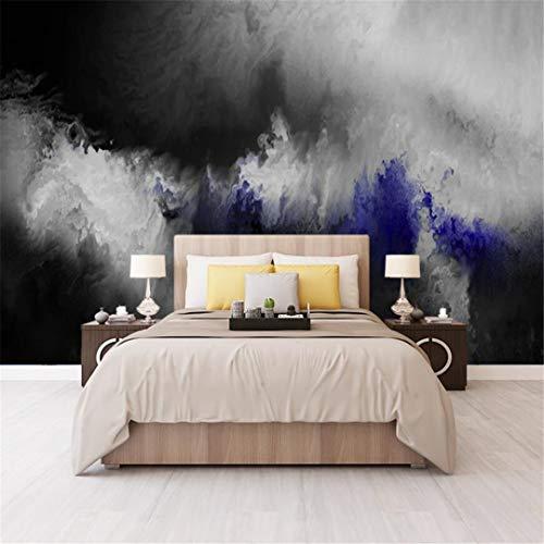 3D-behang van vlies met graffiti-motief, handbeschilderd, Scandinavische kunst, abstract, wit en zwart, voor woonkamer, behang, bank, zonder naadloze oplossing voor wandbekleding 250cm*175cm