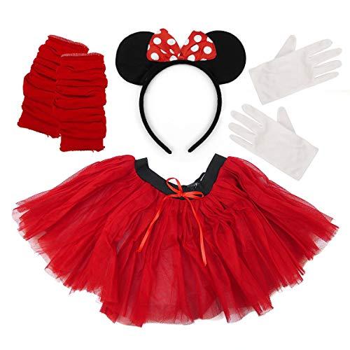 Adult's Minni die süße Maus Karneval Tutu Kostümzubehör (3PC)