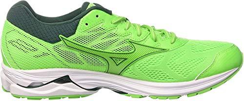 Mizuno Wave Rider 21, Mens Running Running Shoes, Green (Greenslime/Greengecko/Botanicalgarden 41), 7 UK (40.5 EU)