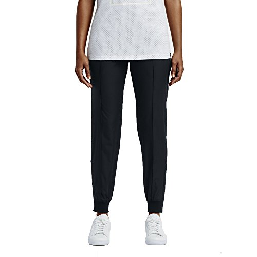 NIKE Court Woven Women's Tennis Training Pants (Small, Black)