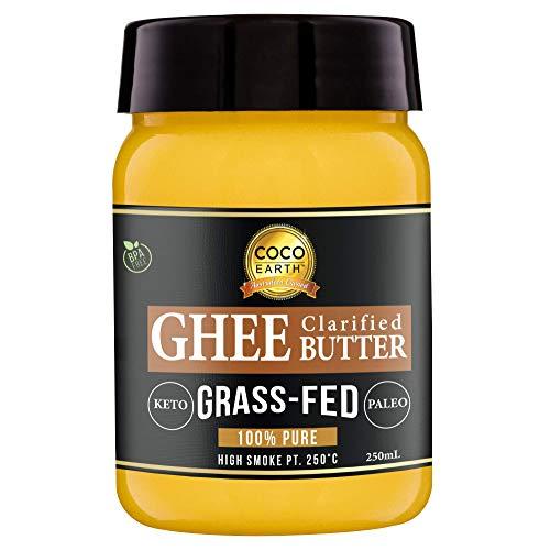 Coco Earth Grass-Fed Ghee Butter 250 ml