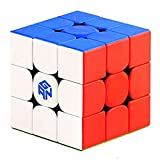 CuberSpeed Gan 356 RS 3x3 stickerelss Magic Cube GAN 356 R S 3x3x3 Speed Cube Puzzle (356RS Version)