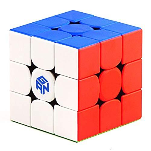 CuberSpeed Gan 356 RS 3x3 stickerelss Magic Cube GAN 356 R S 3x3x3 Speed Cube Puzzle (356RS Version)
