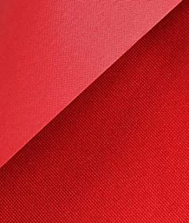 Red 600x300 Denier PVC-Coated Polyester Fabric - by the Yard