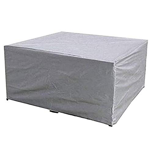 BTCCL Garden Furniture Cover with Air Vent, Waterproof, Windproof, Anti-UV, Heavy Duty Rip Proof 600D Oxford Fabric Patio Set Cover, Garden Table Cover,