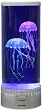 Playlearn Round Jellyfish Lamp - USB Powered - Jellyfish Lava Lamp Mood Lamp - 15 Inch - 5 Color Settings