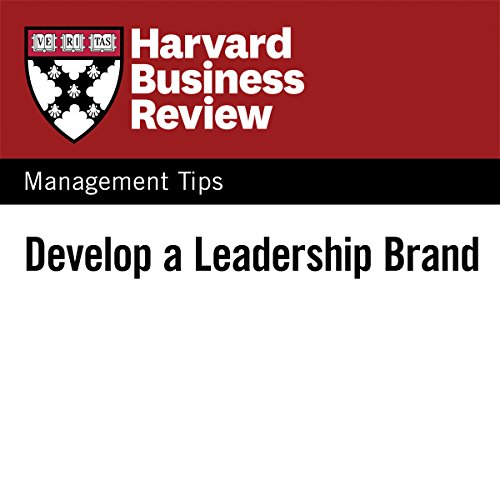 Develop a Leadership Brand audiobook cover art