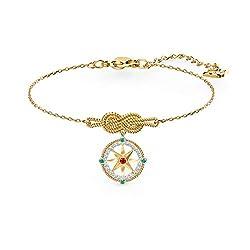 Ocean Adventure Bracelet In Light Multi-Colored, Gold-tone plated