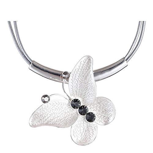 Lege Vrouw Vlinder Choker Ketting Hanger Mode Sieraden Vrouwen Accessoires