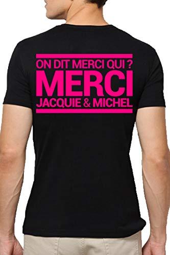 T-shirt Jacquie & Michel Rose fluo - XXXL