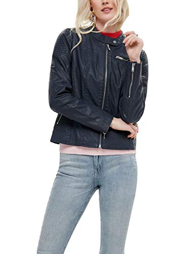 Only Onlflora Faux Leather Jacket CC Otw Chaqueta para Mujer